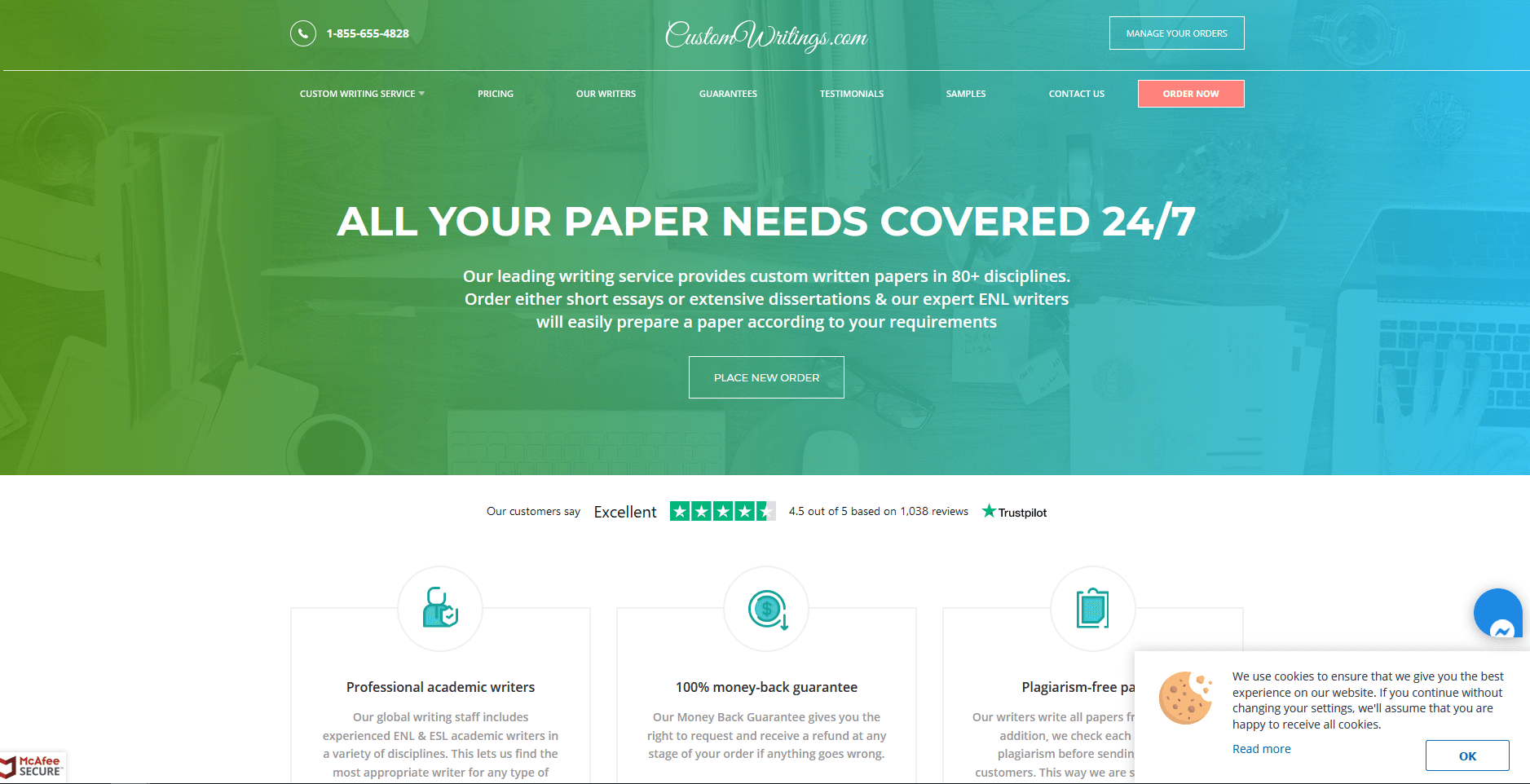 Customwritings.com Writing Service Review by TheLegitEssay