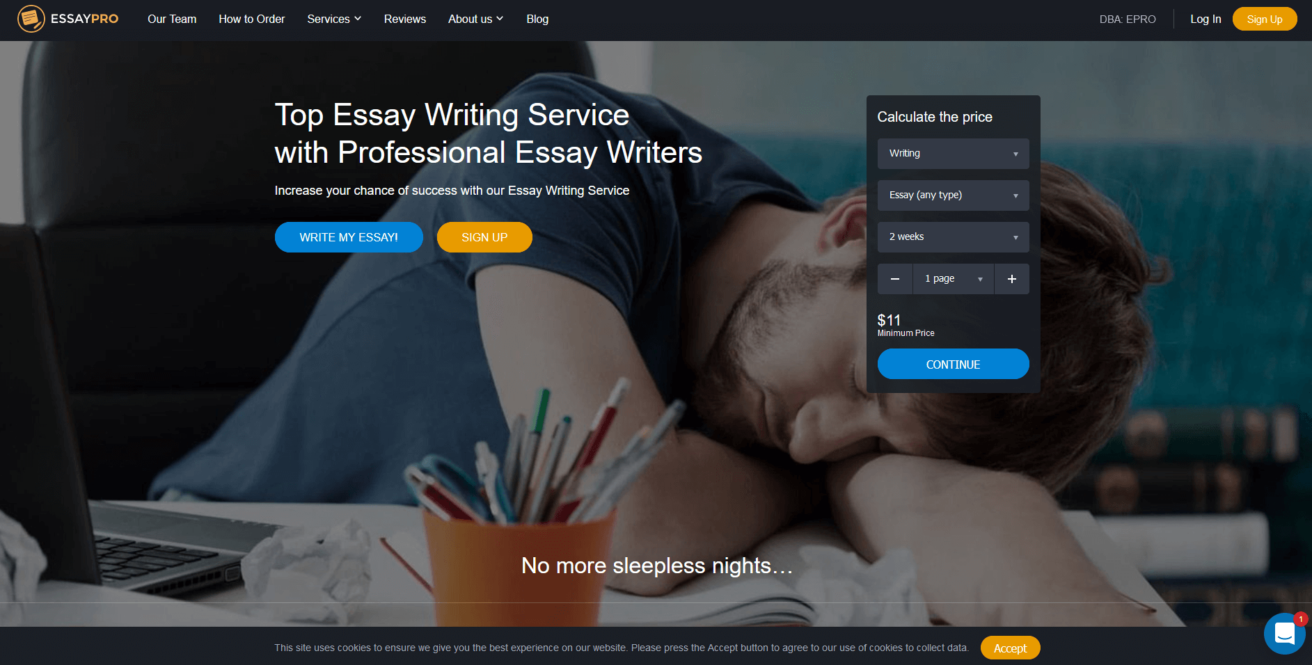 Essaypro Writing Service Review by TopEssayCompanies
