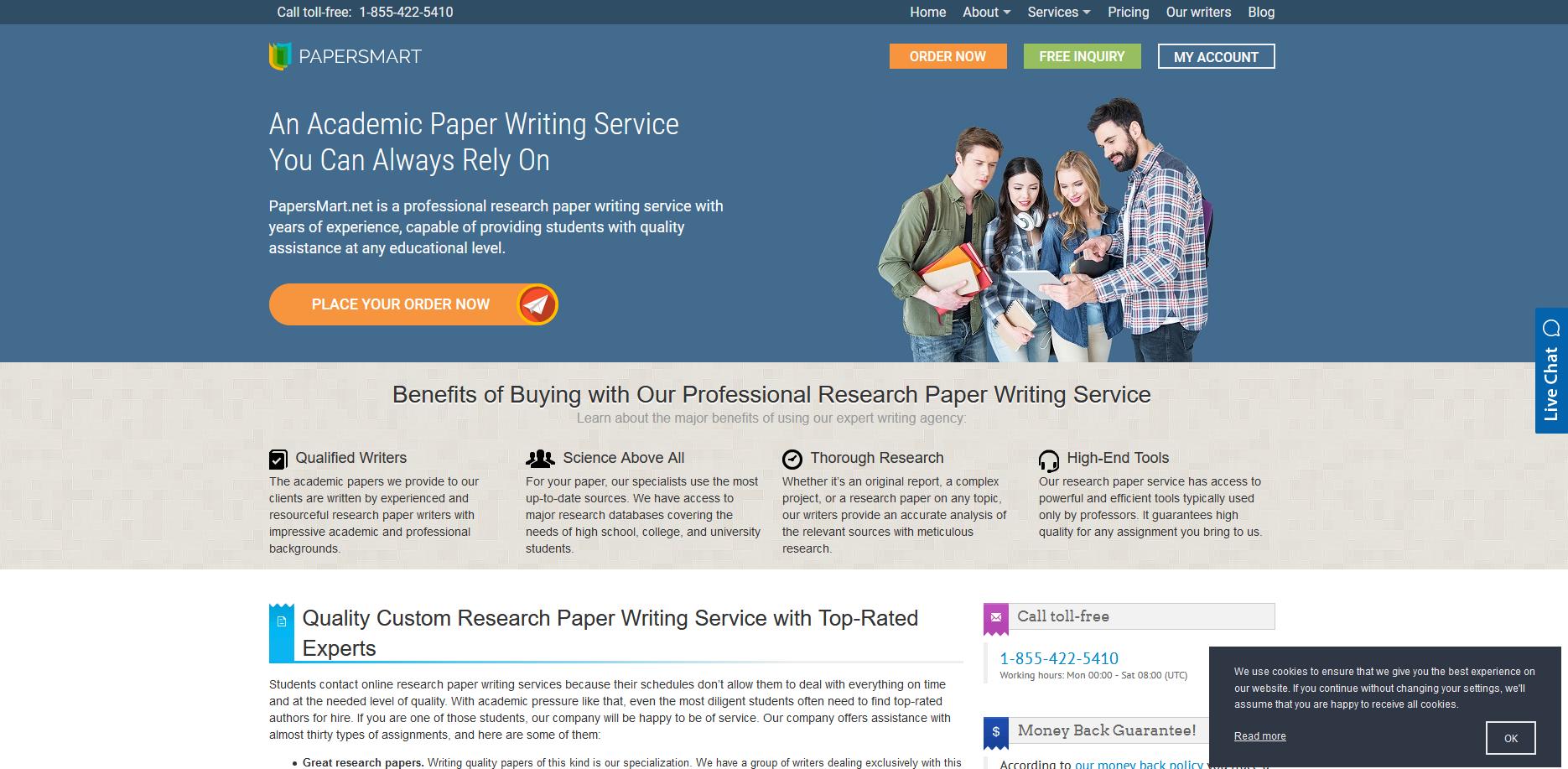 Papersmart.net Writing Service Review by TheLegitEssay