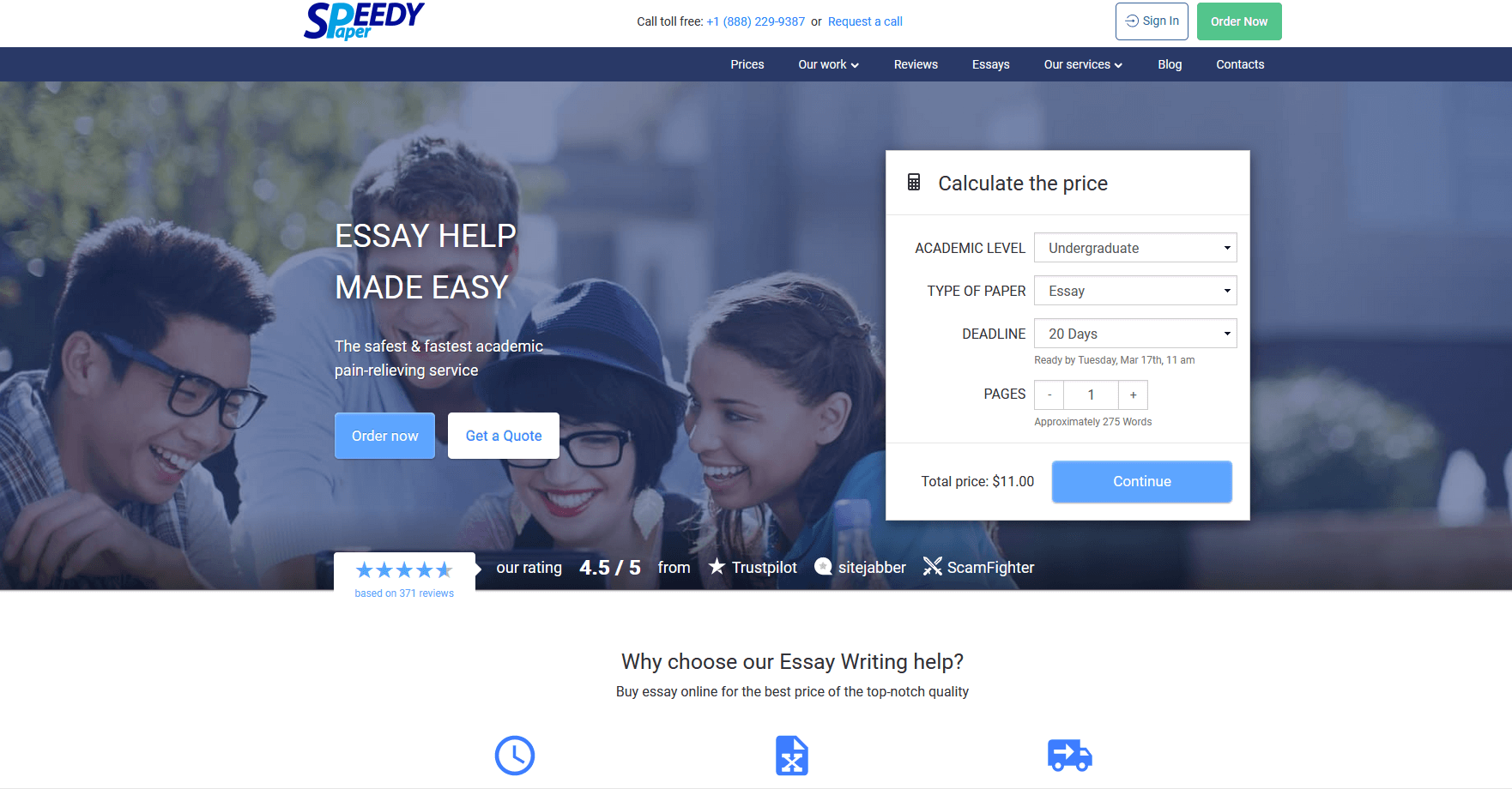 Speedypaper.com Writing Service Review by TheLegitEssay
