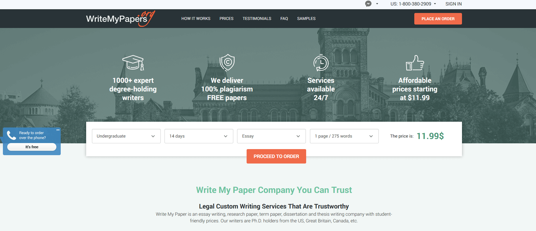 Writemypapers.org Writing Service Review by TheLegitEssay