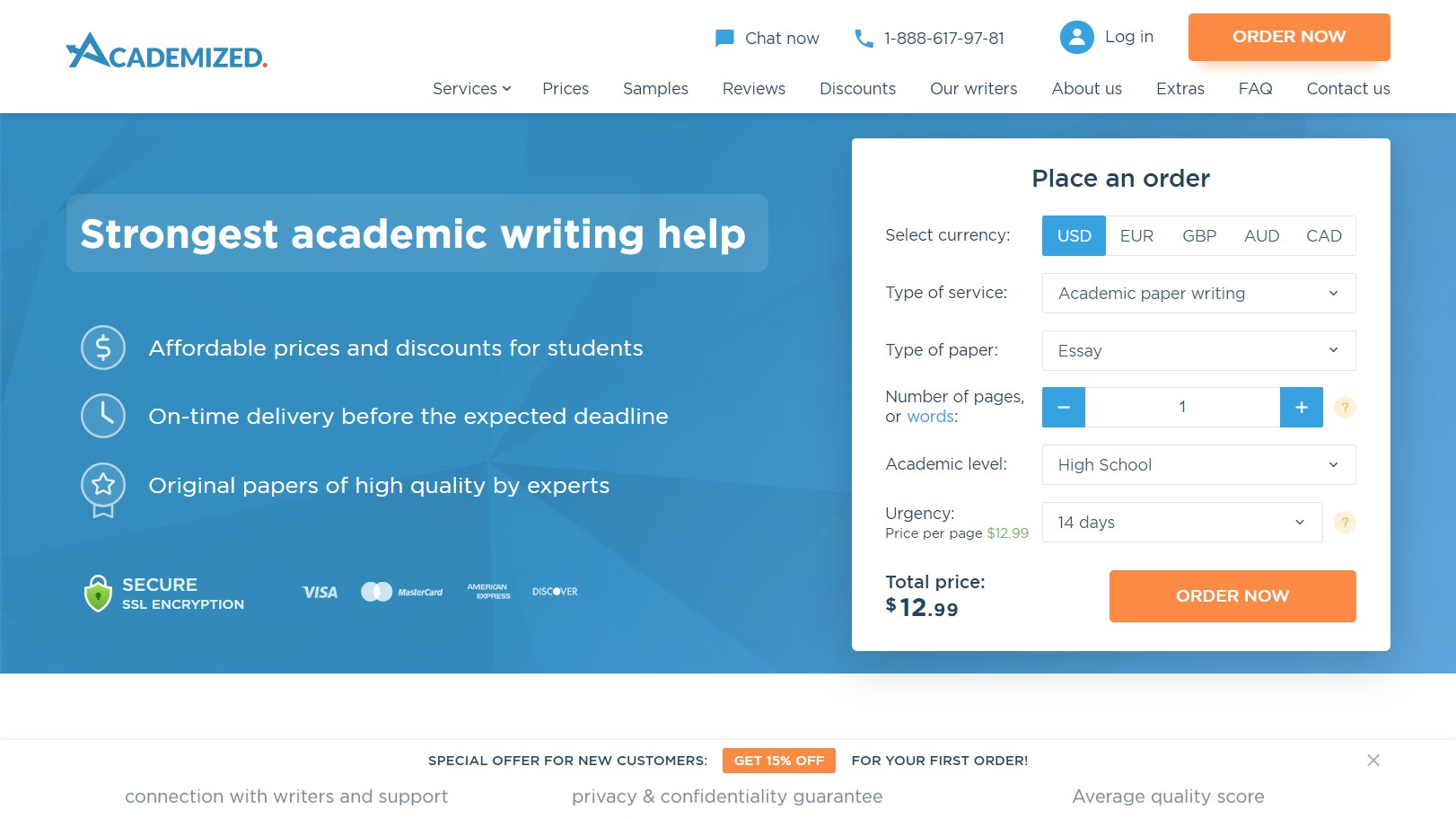 Academized Writing Service