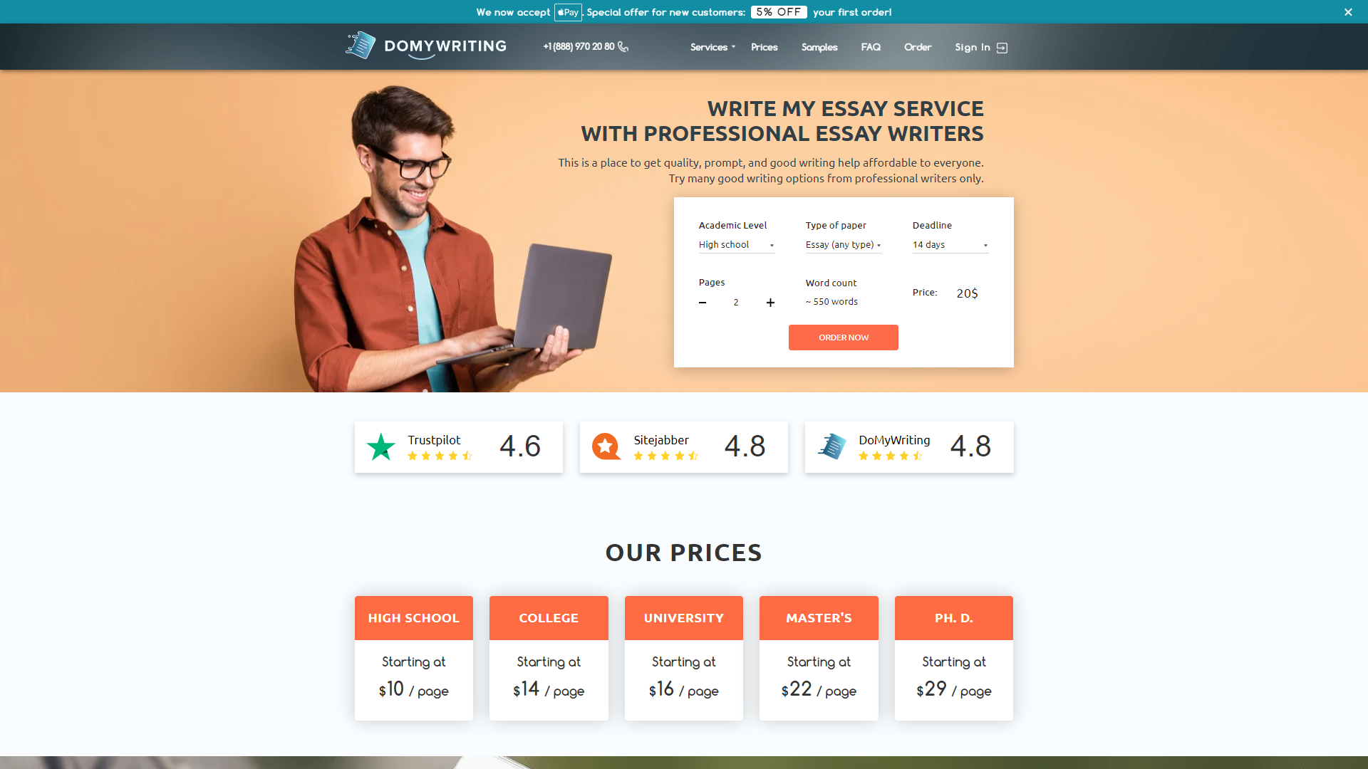 DoMyWriting Review for Customers