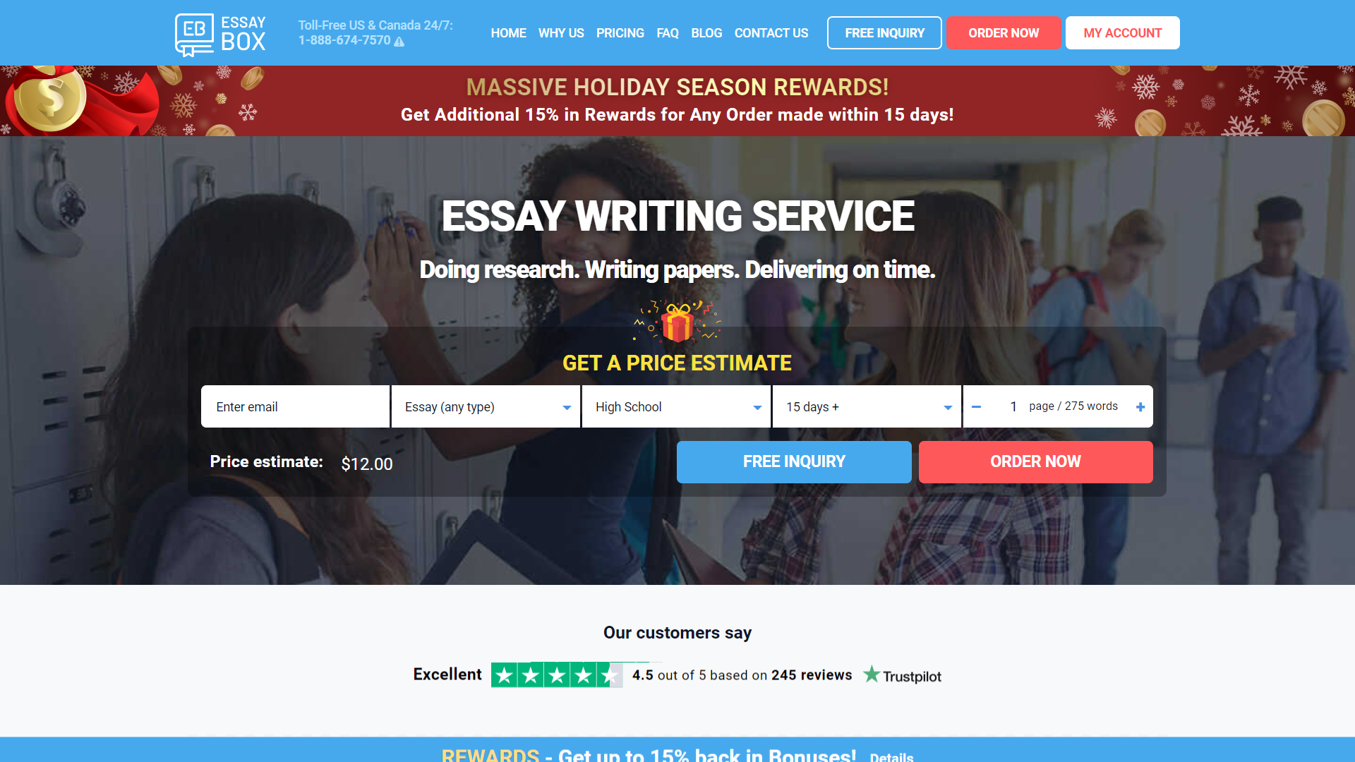 Writing Service Review by TheLegitEssay