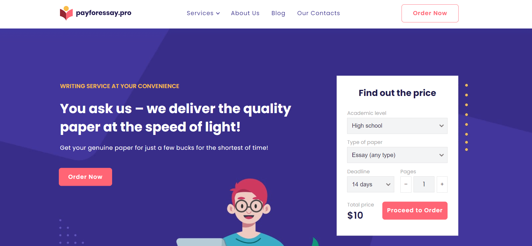 Payforessay.pro Writing Service Review by TheLegitEssay