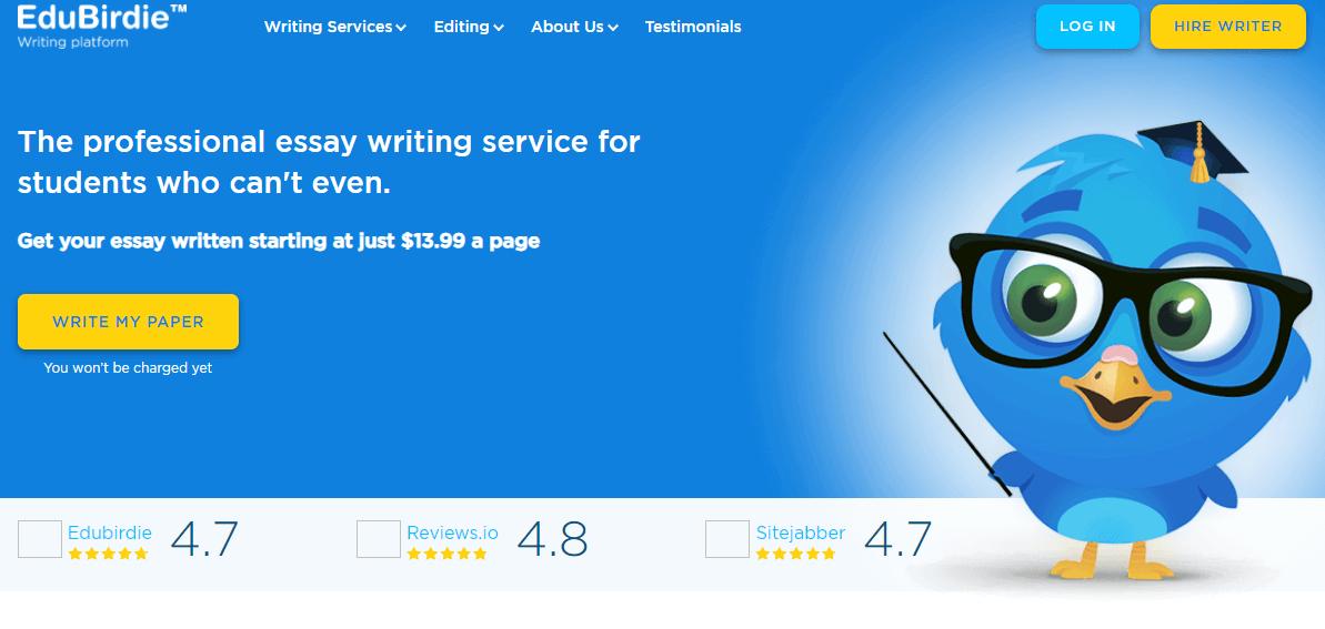 Edubirdie.com Writing Service Review by TheLegitEssay